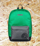 DC Shoes, Backstack, 18.5L Backpack, Green, Large main compartment, External pocket with organiser, Internal padded and elevated laptop sleeve, Padded rear panel, Woven label on shoulder strap, Brighton, Skate Shop, Level Skateboards, Independent