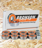 Bronson Speed Co, Bearings, G2, (Pack of 8), Orange, brand new, professional grade, pre-lubricated, smooth, fast ride, standard size (608 with a 8mm core, 22mm outer diameter, 7mm width),  best in performance, durability, Level Skateboards, Brighton, Skate Shop.