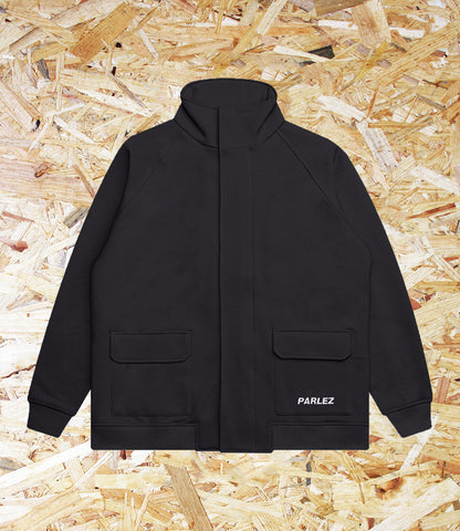 Parlez, Carter, Zip, Through, Jersey, Black, Brighton, Skate Shop, Level Skateboards, Independent