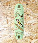 "Drawing Boards, Seasonal Birds, Goldfinch Deck, 8.1'' Wide, 14.0"" Wheelbase, 7-Ply Canadian Maple, Team Model Deck, Seasonal Birds Series,Brighton, Skate Shop, Level Skateboards, Independent"