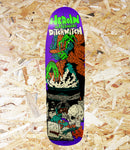 Heroin Skateboards, 'Ditch Witch 4', 9.3″, Shaped Deck, Level Skateboards, Local skate shop, independent, Brighton