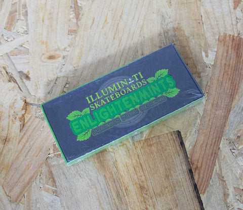 Illuminati, Enlightenmints, Bearings, Green, Precison Fresh, Skateboard Bearings, fast ride, spacers, Abec 9, Precision Fresh, Level Skateboards, Brighton, Skate Shop, Independent