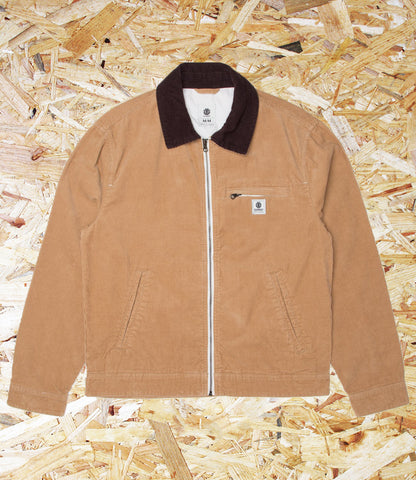 Element, Craftman, Light, Jacket, Khaki, Brighton, Skate Shop, Level Skateboards, Independent