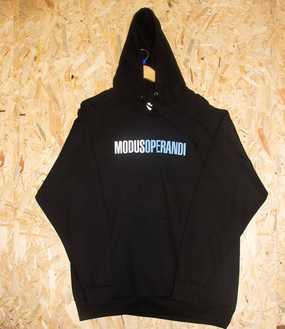 Transworld, Modus, Hoodie, Black, Screen Printed, Brighton, Level Skateboards, Skate Shop, independent