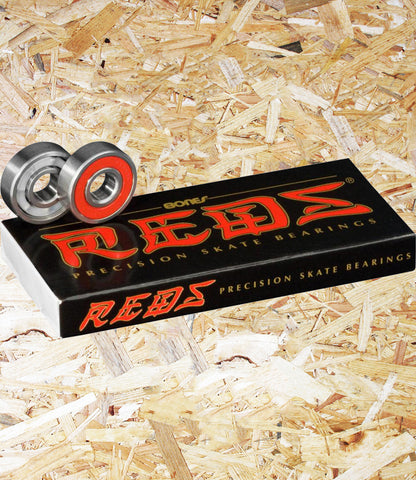 Bones, Reds, Bearings, skate, precision, skate rated, speed cream, Level Skateboards, Brighton, Skate Shop, Independent