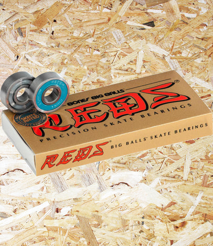 Bones, Reds, Big Balls, Speed Cream, Skate Rated, Long Lasting, smooth, fast, strong, Level Skateboards, Brighton, Skate Shop, Independent