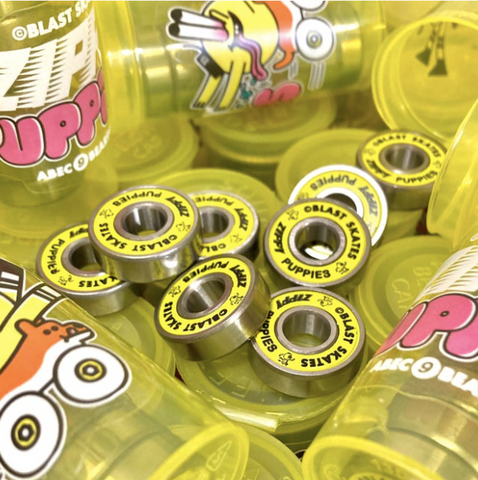 Blast Skates, Zippy, Puppies, Bearings, Brighton, Skate Shop, Level Skateboards, Independent