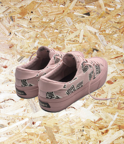 Straye Stanley Stay High Skate Shoes - Pink.  Inspired by our friendo Roberto, hence the amazing rubber toe caps. If you have flick in your kickflips, these are were made for you, thank us later skater! No hidden costs for comfortable AcidDrop® removable insoles! Level Skateboards, Brighton, Independent Skate Shop