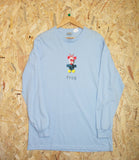 Frog Skateboards, Mr. Greg, Long Sleeve Tee, Baby Blue, Cotton, Screen-printed design , Brighton, Skate Shop, Level Skateboards, Independent