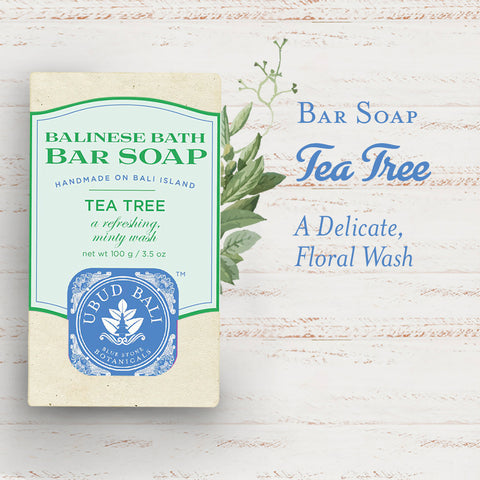 Balinese Bath Soap - Tea Tree