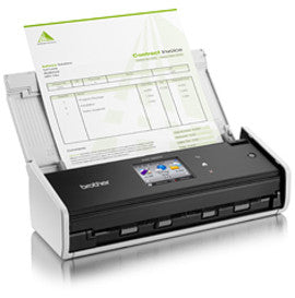 ADS-1600W Mobile color scanner wireless