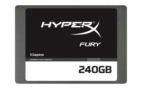 KINGSTON 240GB HyperX FURY SSD SATA3 2.5