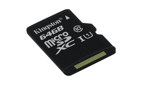 KINGSTON 64GB microSDXC Class10 UHS-I
