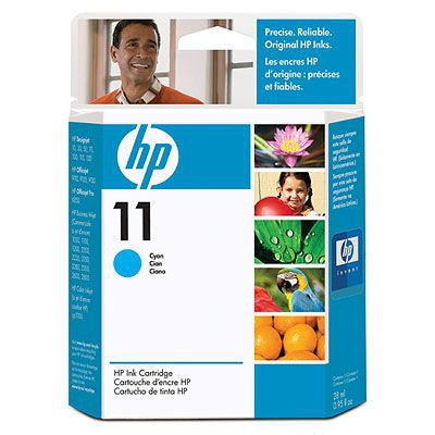 No11 cyan ink cartridge, 28ml