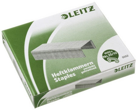 Heftestift Leitz 25/10 Eske a 1000