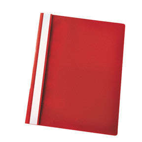 Centra Flat File w/o pocket A4 Red (25)