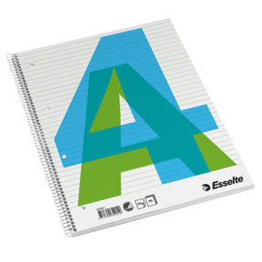 Esselte college pad A4 70g/70 sheets ruled