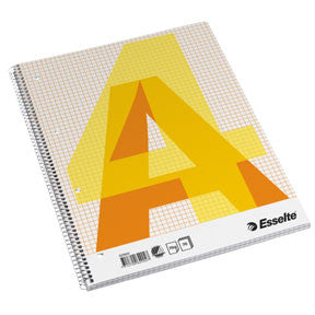 Esselte college pad A4 70g/70 sheets squared