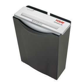 HSM Shredstar document shredder S5 6,0mm strip cut black