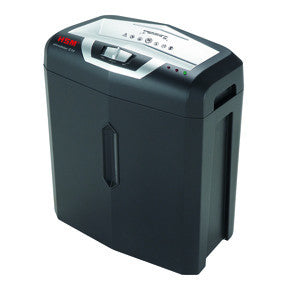 HSM Shredstar document shredder S10 6,0mm strip cut black