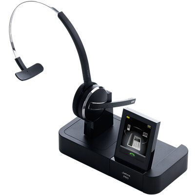 JABRA PRO 9470 Mono DECT Multiuse connectivity for Desk phone-Mobile-PC Touch screen Noice-Cancelling DSP technology