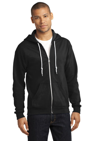 Anvil¬ Full-Zip Hooded Sweatshirt. 71600