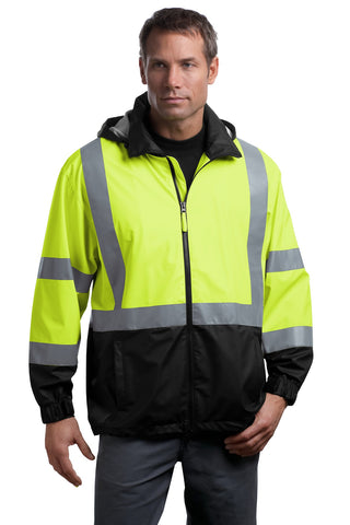CornerStone¬ - ANSI 107 Class 3 Safety Windbreaker. CSJ25