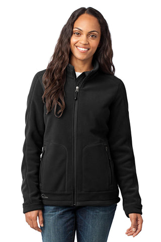 Eddie Bauer¬ - Ladies Wind-Resistant Full-Zip Fleece Jacket. EB231