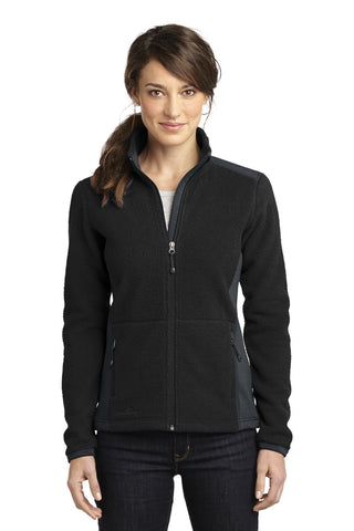 Eddie Bauer¬ Ladies Full-Zip Sherpa Fleece Jacket. EB233