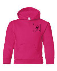 Adult SPSA Heavy Blend Left Chest Hooded Sweatshirt. 18500
