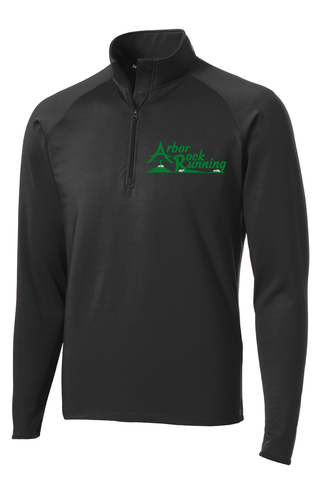Arbor Rock Running Sport-Wick® Stretch 1/2-Zip Pullover