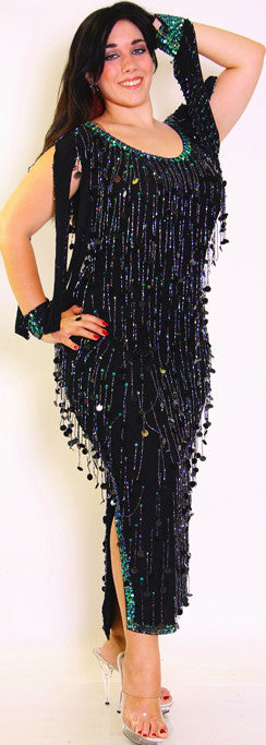 Folkloric Fringe Dress
