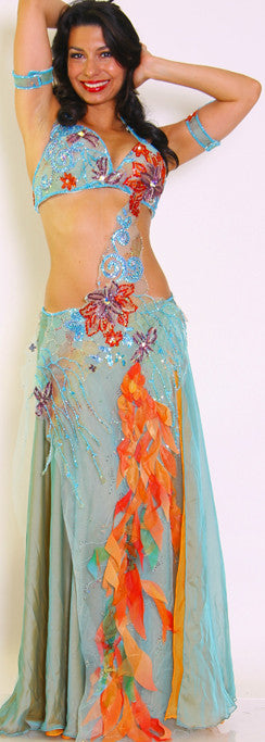 Hoda Zaki Two-Piece Costume