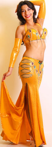 Raqia Hassan Two-Piece Costume