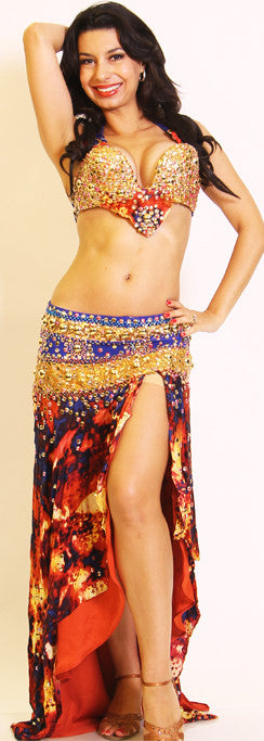 Mamdouh Salama Two Piece Costume