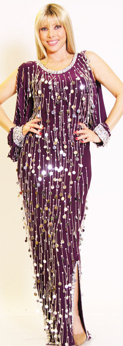 Galabeya Fringe Dress 23144