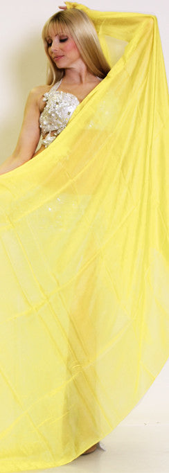 Yellow Silk Veil
