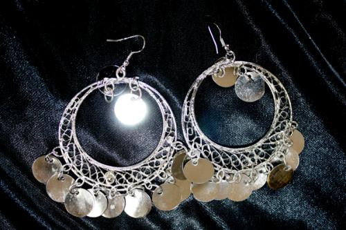 Hoop And Coin Earrings