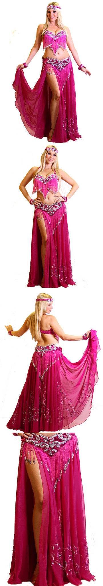 Pharaonics of Egypt Arabesque/sohir zaki Skirtveil Set