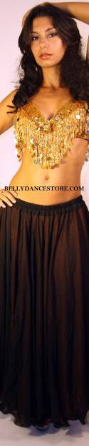 Two Tone Color- Reversible Skirt