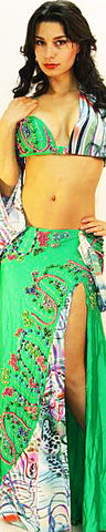 Sahar Okasha Two Piece Costume