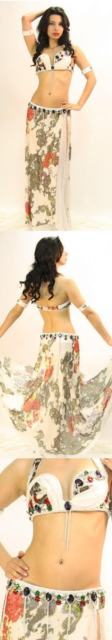 Hoda Zaki Eman Zaki Two-Piece Costume