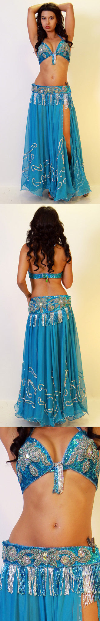 Mumtaz Bra And Belt Set