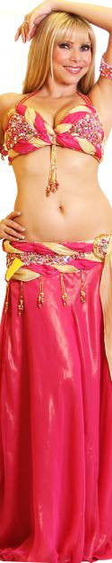 Hoda Zaki Two Piece Costume