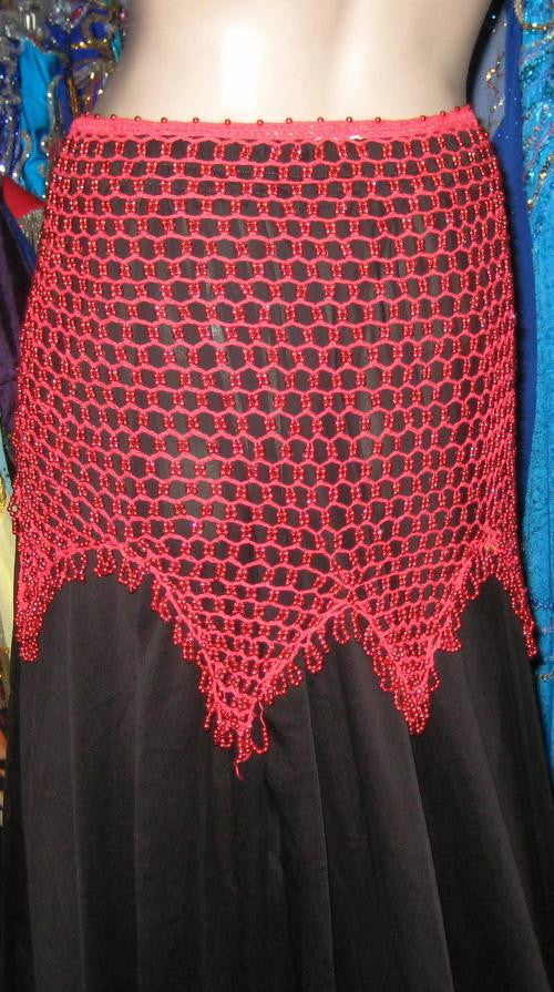 Crocheted Hip Scarf