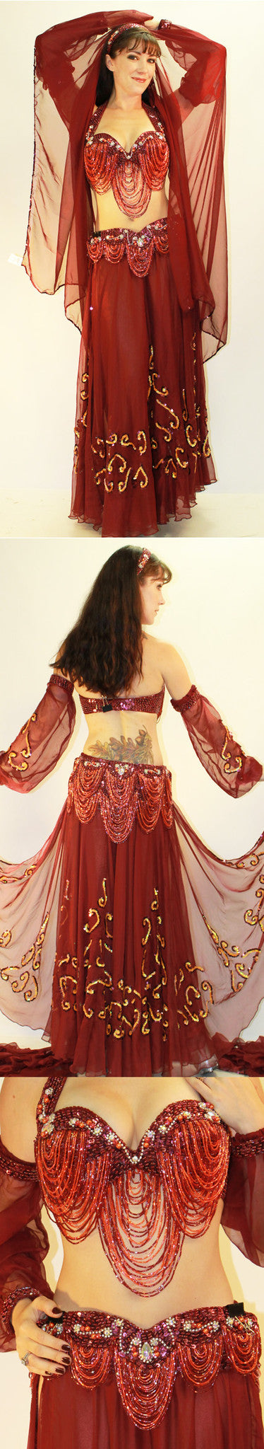 Pharaonics of Egypt Pharaonics Of Egypt Skirt/Veil Set