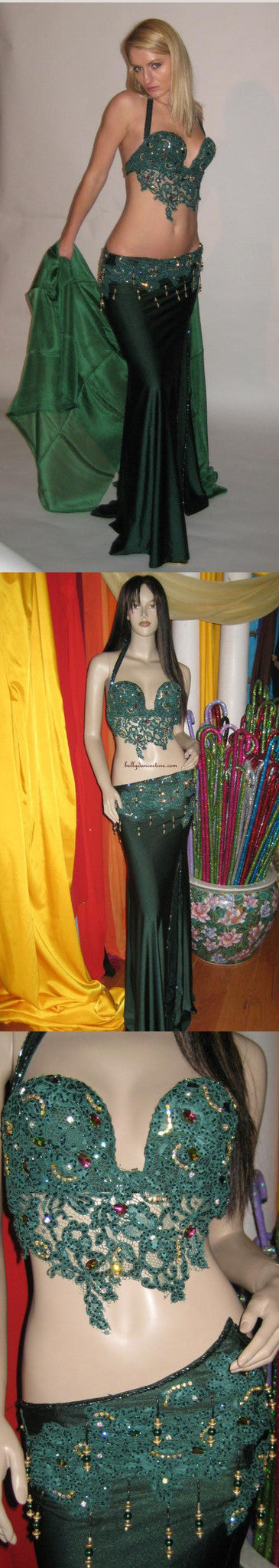 Eman Zaki Two-Piece Costume