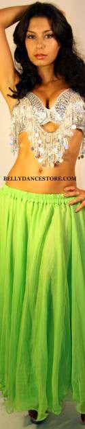 Large Green Skirt