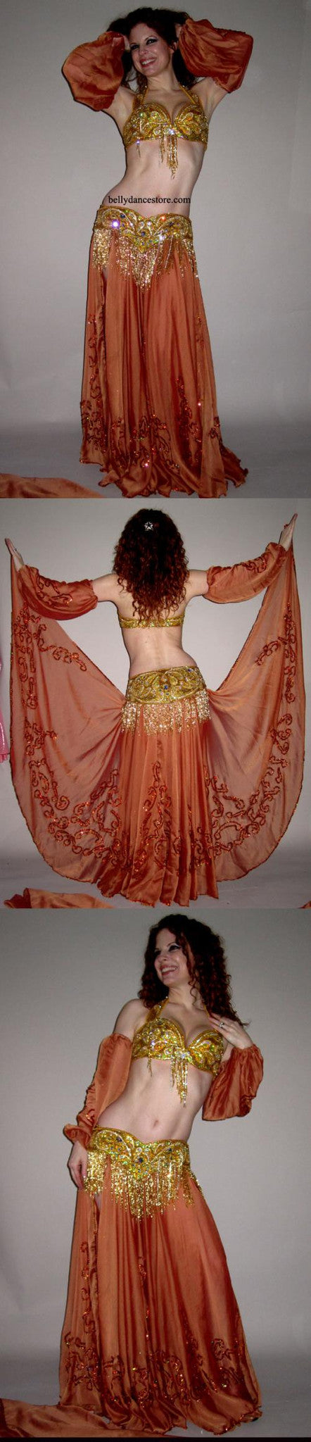 Pharaonics of Egypt Arabesque Skirt/Veil Set