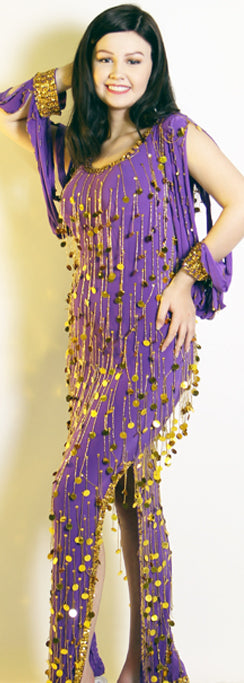 Galabeya Fringe Dress 23814